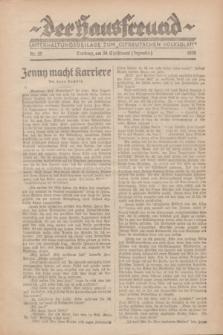 """Der Hausfreund : Unterhaltungsbeilage zum """"Ostdeutschen Volksblatt"""".1928, Nr. 29 (30 Christmont [Dezember])"""