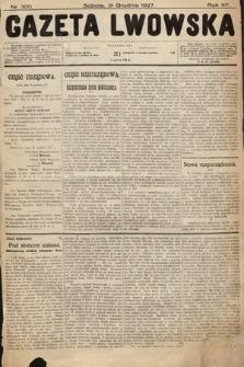 Gazeta Lwowska. 1927, nr300