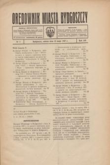Orędownik Miasta Bydgoszczy. R.53, nr 5 (15 maja 1937)