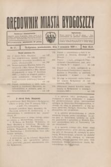 Orędownik Miasta Bydgoszczy. R.45[!], № 17 (2 września 1929)