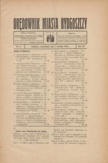 Orędownik Miasta Bydgoszczy. R.54, nr 6 (5 września 1938)