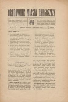 Orędownik Miasta Bydgoszczy. R.54, nr 7 (1 października 1938)