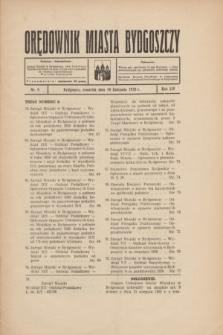 Orędownik Miasta Bydgoszczy. R.54, nr 8 (10 listopada 1938)