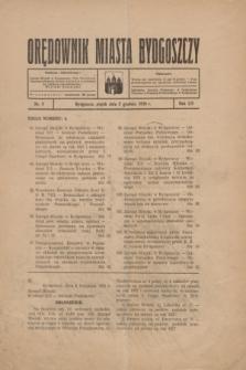 Orędownik Miasta Bydgoszczy. R.54, nr 9 (2 grudnia 1938)