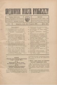 Orędownik Miasta Bydgoszczy. R.46, № 2 (15 stycznia 1930)