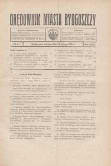 Orędownik Miasta Bydgoszczy. R.46, № 4 (15 lutego 1930)