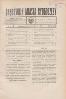 Orędownik Miasta Bydgoszczy. R.46, № 6 (15 marca 1930)
