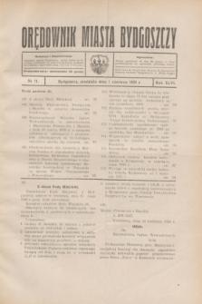 Orędownik Miasta Bydgoszczy. R.46, № 11 (1 czerwca 1930)