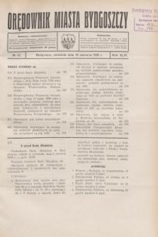 Orędownik Miasta Bydgoszczy. R.46, № 12 (15 czerwca 1930)