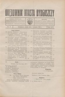 Orędownik Miasta Bydgoszczy. R.46, nr 15 (1 sierpnia 1930)