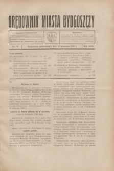 Orędownik Miasta Bydgoszczy. R.46, nr 19 (15 września 1930)