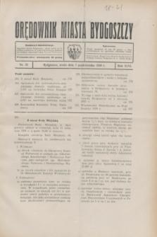 Orędownik Miasta Bydgoszczy. R.46, nr 22 (1 października 1930)
