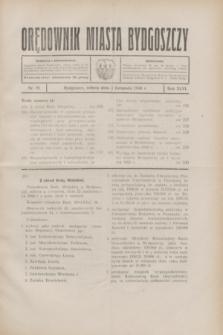 Orędownik Miasta Bydgoszczy. R.46, nr 24 (1 listopada 1930)