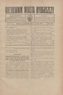 Orędownik Miasta Bydgoszczy. R.46, nr 27 (15 grudnia 1930)