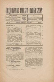 Orędownik Miasta Bydgoszczy. R.52, nr 12 (15 lipca 1936)