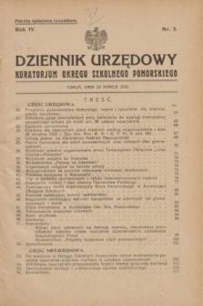 Dziennik Urzędowy Kuratorjum Okręgu Szkolnego Pomorskiego.R.4, nr 3 (25 marca 1932) + dod.