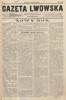 Gazeta Lwowska. 1929, nr1