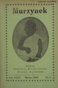Murzynek.R.24, nr 3 (marzec 1936)