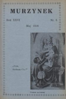 Murzynek.R.26, nr 5 (maj 1938)