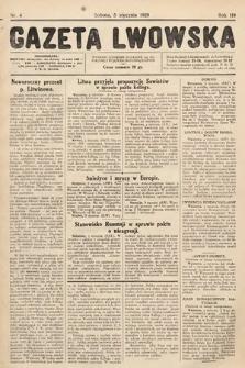 Gazeta Lwowska. 1929, nr4