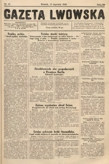 Gazeta Lwowska. 1929, nr12