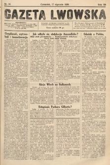 Gazeta Lwowska. 1929, nr14