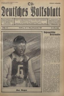 Ost-Deutsches Volksblatt.Jg.12, Folge 10 (5 März [Lenzmond] 1933) = Jg.26