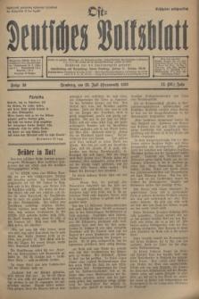 Ost-Deutsches Volksblatt.Jg.12, Folge 30 (23 Heumond [Juli] 1933) = Jg.26