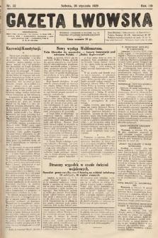 Gazeta Lwowska. 1929, nr22