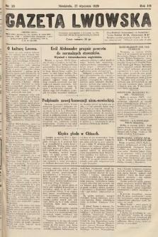 Gazeta Lwowska. 1929, nr23