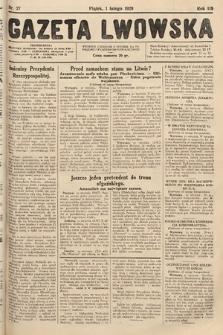 Gazeta Lwowska. 1929, nr27
