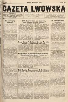 Gazeta Lwowska. 1929, nr39