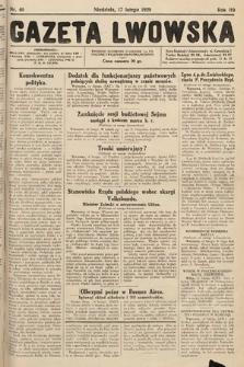 Gazeta Lwowska. 1929, nr40