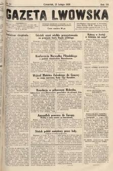 Gazeta Lwowska. 1929, nr43