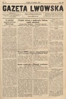 Gazeta Lwowska. 1929, nr44