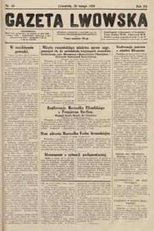 Gazeta Lwowska. 1929, nr49