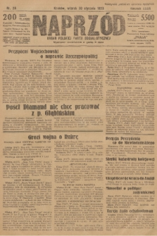 Naprzód : organ Polskiej Partji Socjalistycznej. 1923, nr28