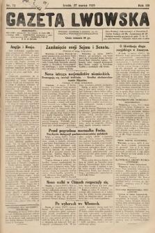 Gazeta Lwowska. 1929, nr72