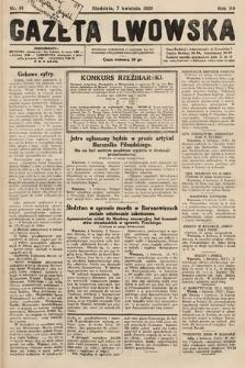 Gazeta Lwowska. 1929, nr81