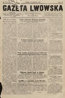 Gazeta Lwowska. 1929, nr85