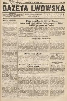 Gazeta Lwowska. 1929, nr87