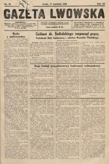 Gazeta Lwowska. 1929, nr89