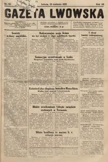 Gazeta Lwowska. 1929, nr92