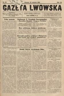 Gazeta Lwowska. 1929, nr94