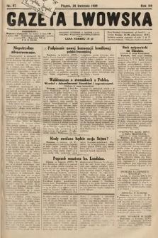 Gazeta Lwowska. 1929, nr97