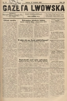 Gazeta Lwowska. 1929, nr98