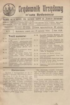 Orędownik Urzędowy Miasta Bydgoszczy.R.43, № 2 (29 stycznia 1926)