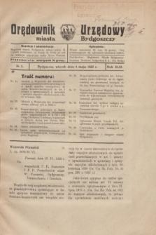 Orędownik Urzędowy Miasta Bydgoszczy.R.43, № 3 (4 maja 1926)