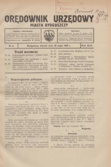 Orędownik Urzędowy Miasta Bydgoszczy.R.43, № 4 (18 maja 1926)
