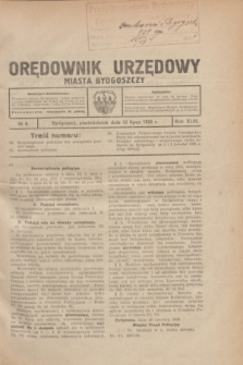 Orędownik Urzędowy Miasta Bydgoszczy.R.43, № 8 (12 lipca 1926)